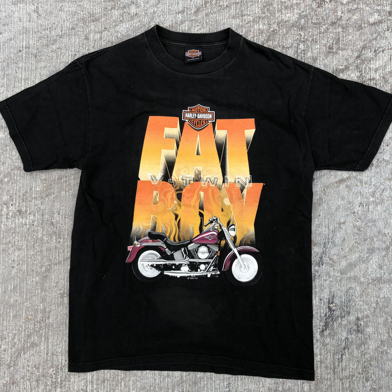 H.D FAT BOY t shirt