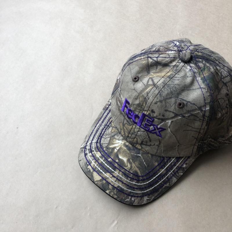 FedEx  real tree camo cap