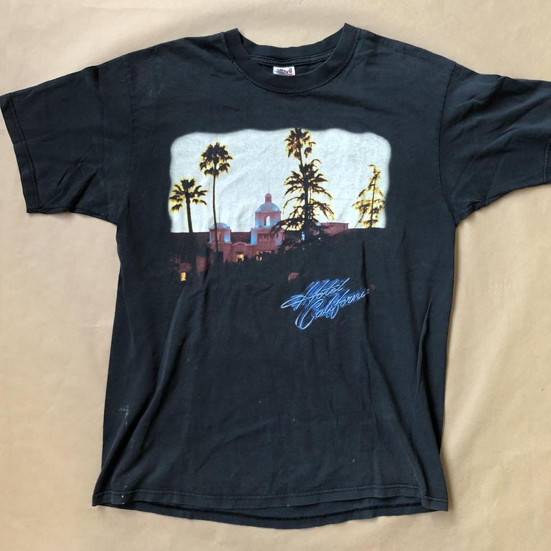 EAGLES 03' tour t  T  shirt