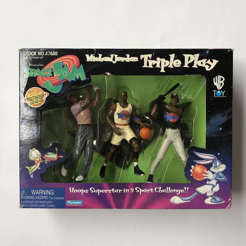 SPACE JAM M.J Triple play set
