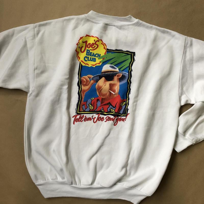 CAMEL cigar sweat shirt