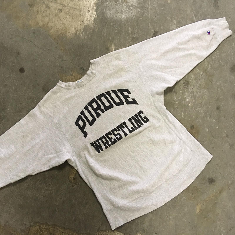 80's  champion reverse wave sweater