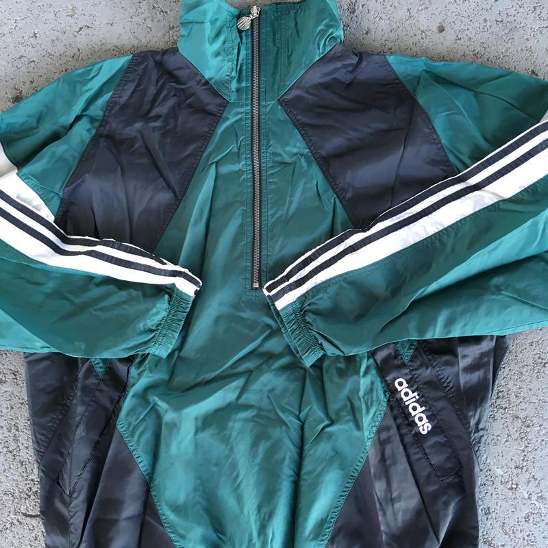 90's adidas nylon pullover jacket