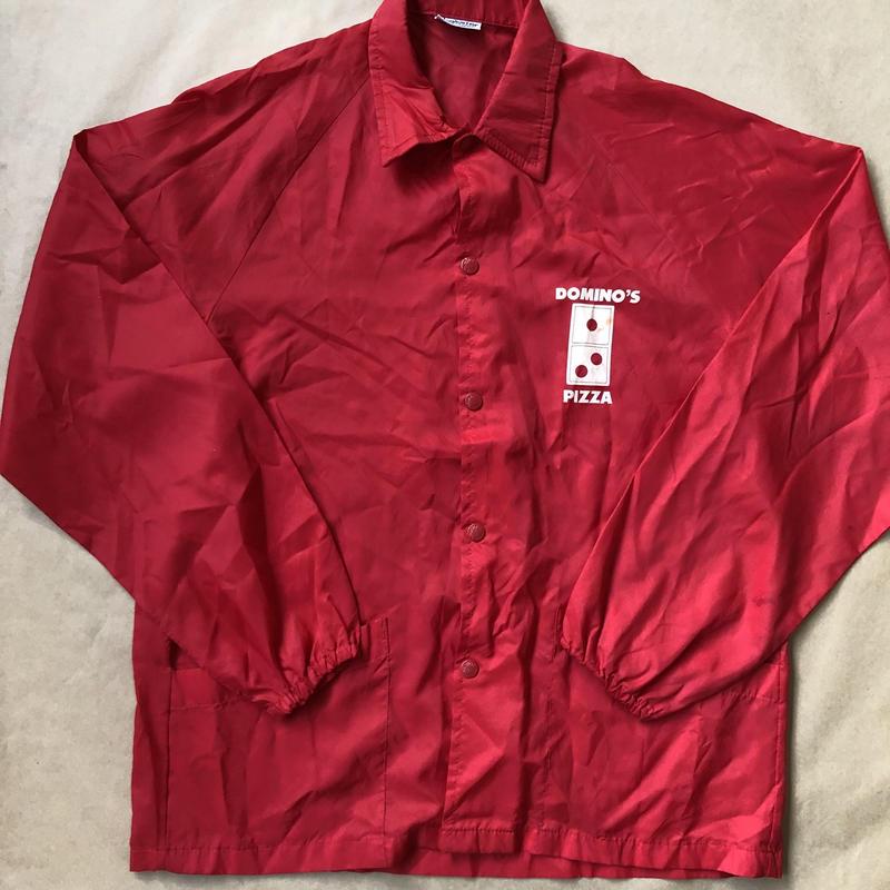 Domino's  vtg coach jacket