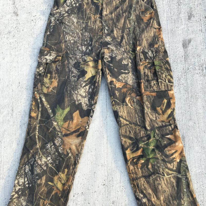 Realtree camp cargo pants