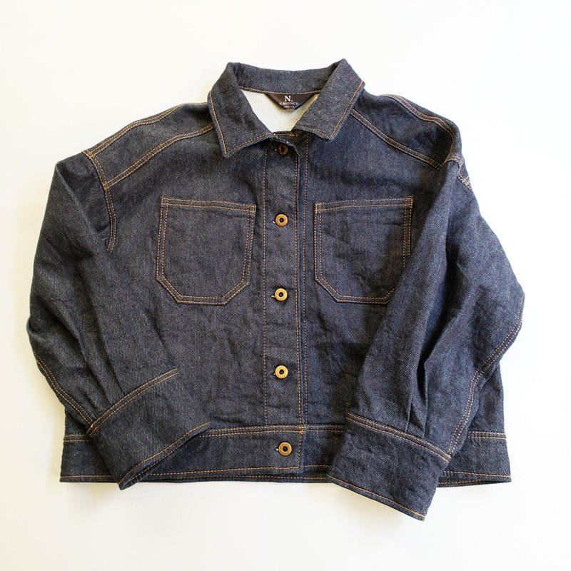 003.short denim jacket