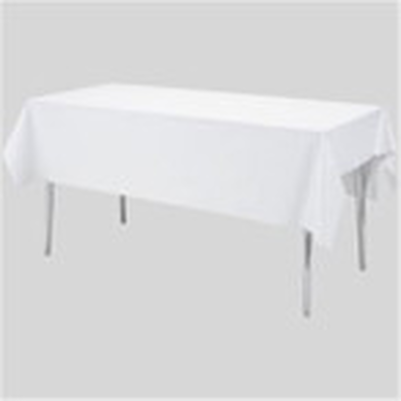 レンタル 長方形テーブル1800×900+白布付(3~6名様用)