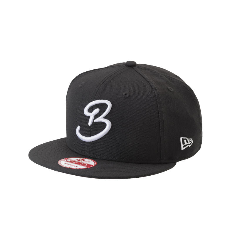 "BLACK & BLUE / NEW ERA 9FIFTY   "" B Mark """