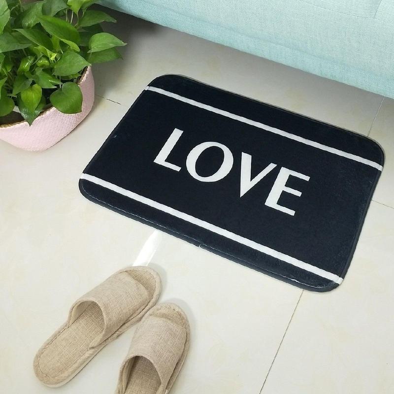 LOVE print door mat / ラブプリントドアマット