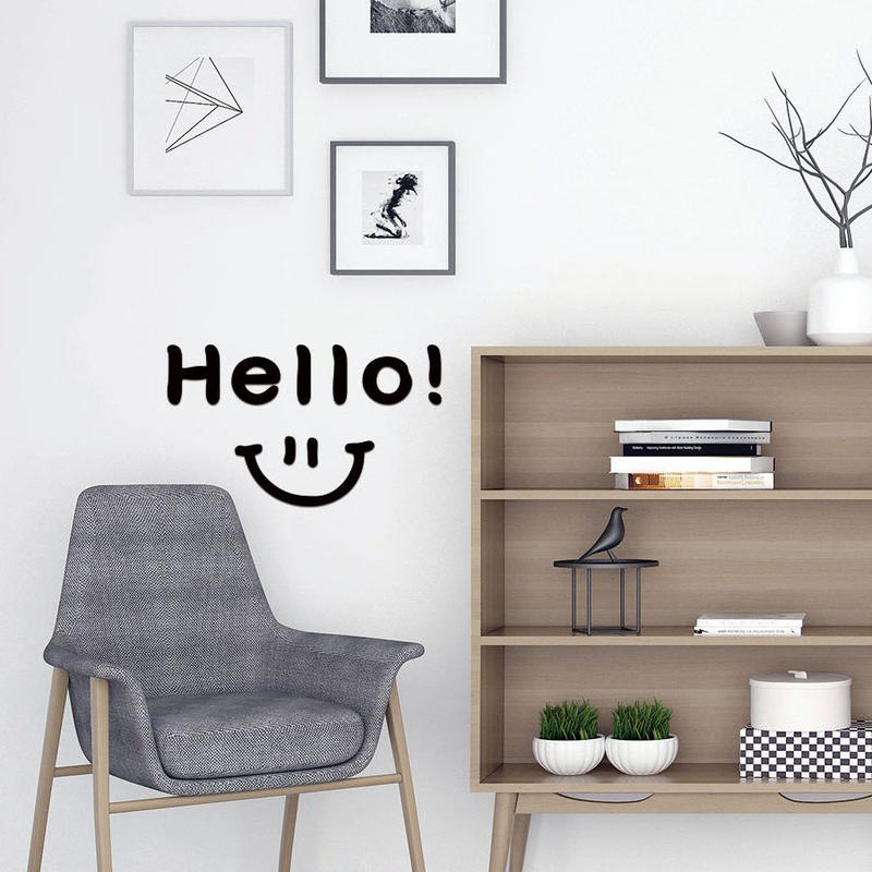 """Hello!"" Wall decal"