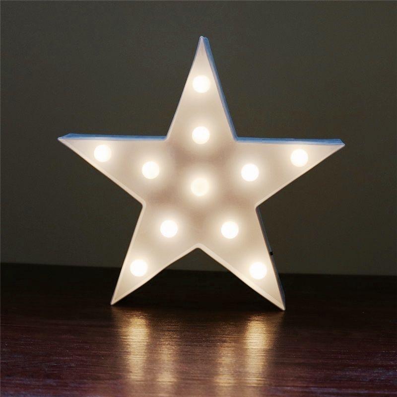 3D star shaped night light / スター型ナイトライト