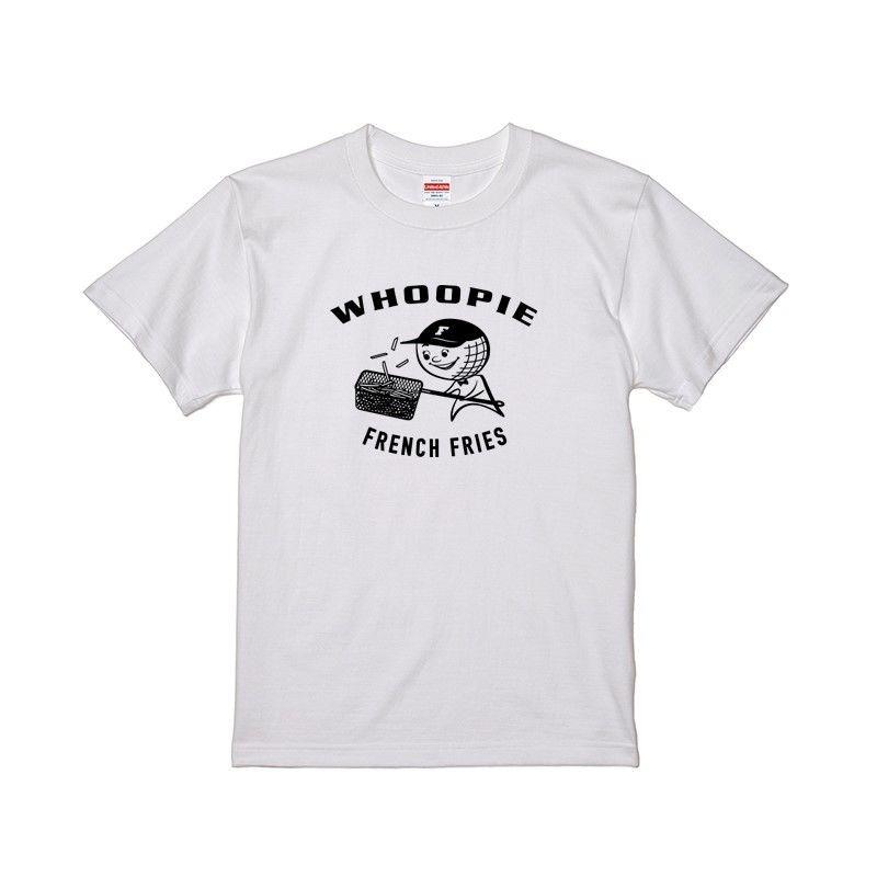 Whoopie girl T-shirt (ホワイト)