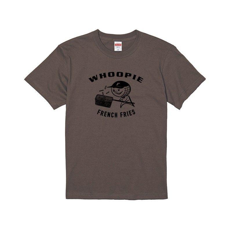 Whoopie girl T-shirt(チャコール)