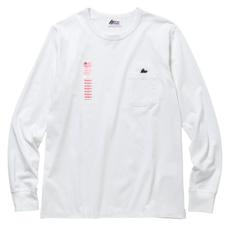 EGGPLANTMAN POCKET LONG TEE