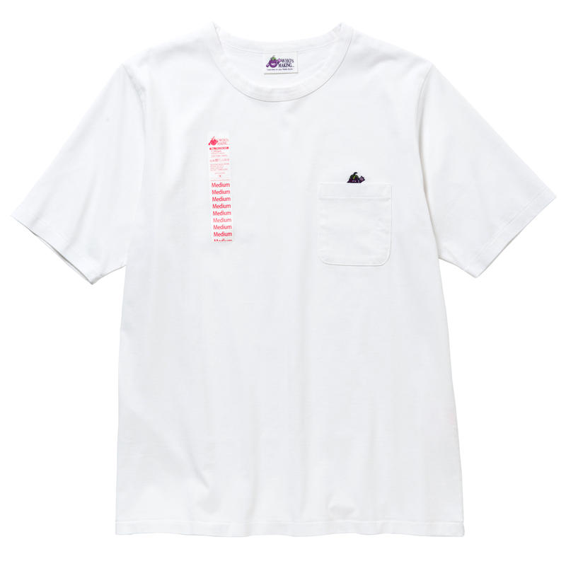 EGGPLANTMAN POCKET TEE