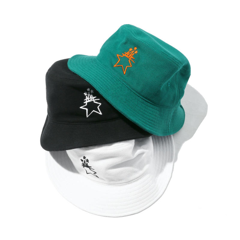 E-WAX KANOKO BUCKET HAT