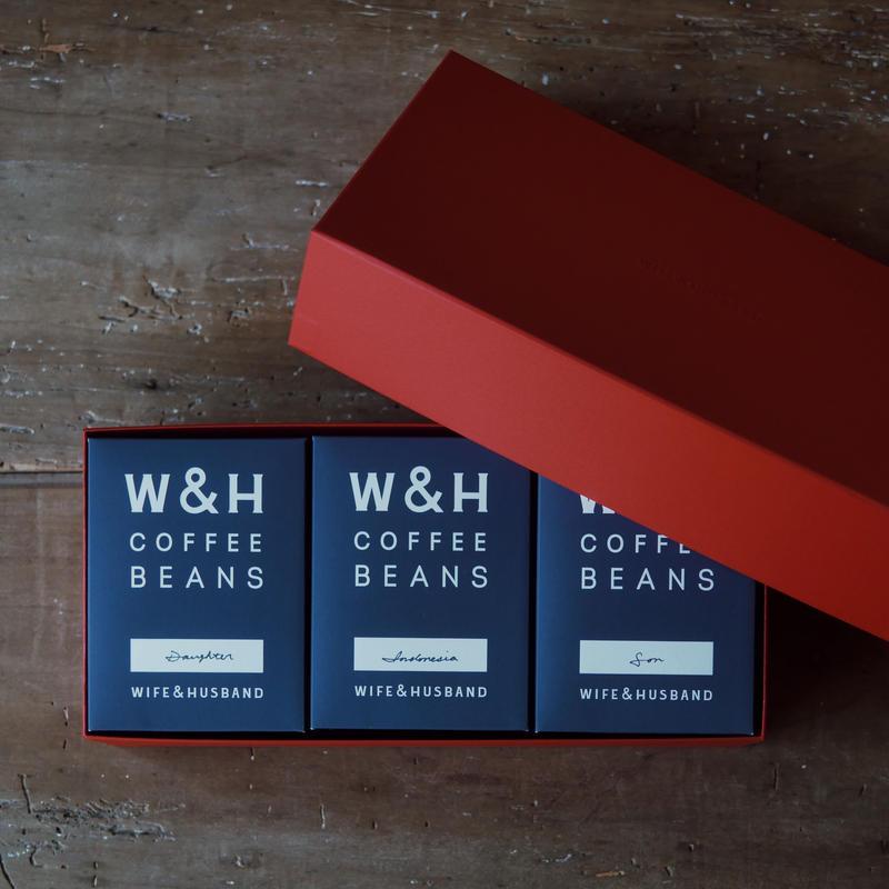 W&H COFFEE / GIFT SET 3種