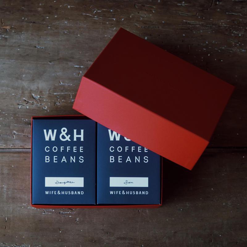 W&H COFFEE / GIFT SET 2種