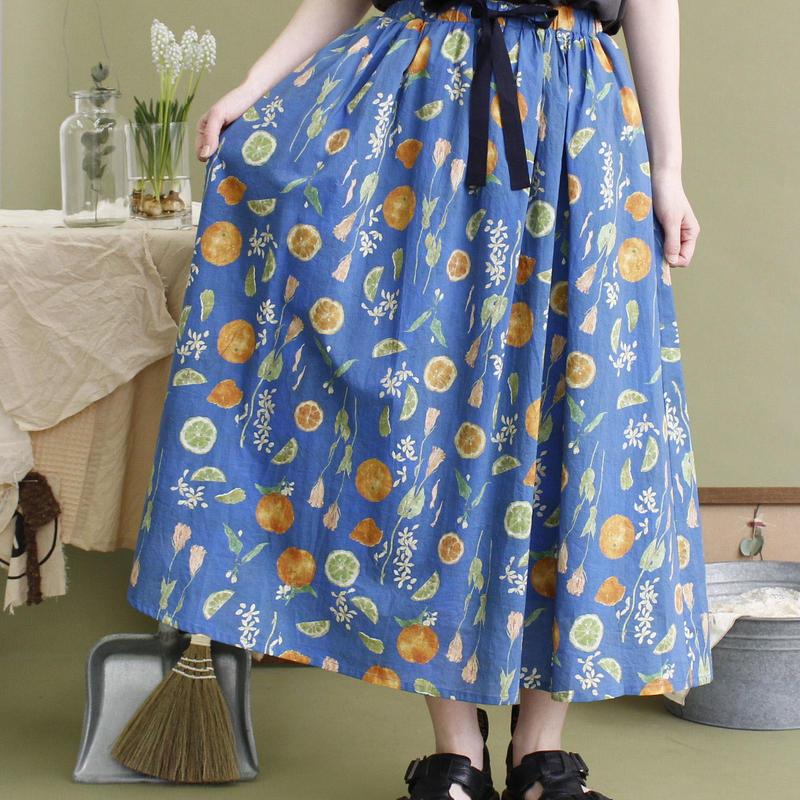 chambre de charme  きたがわじゅりコラボ ギャザースカート