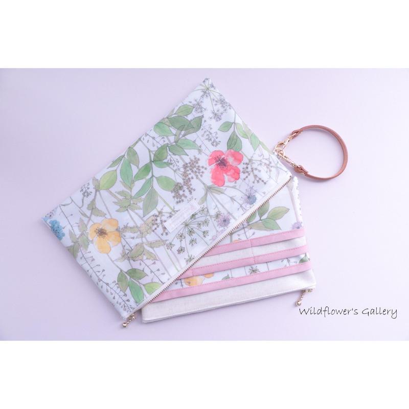 仕分けポーチ  Liberty Irma  Ssize  Card pocket 6type