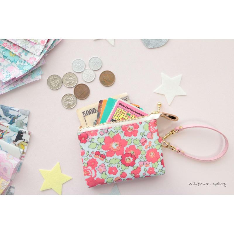 Mini Wallet Import Liberty Betsy Fraise TAGADA