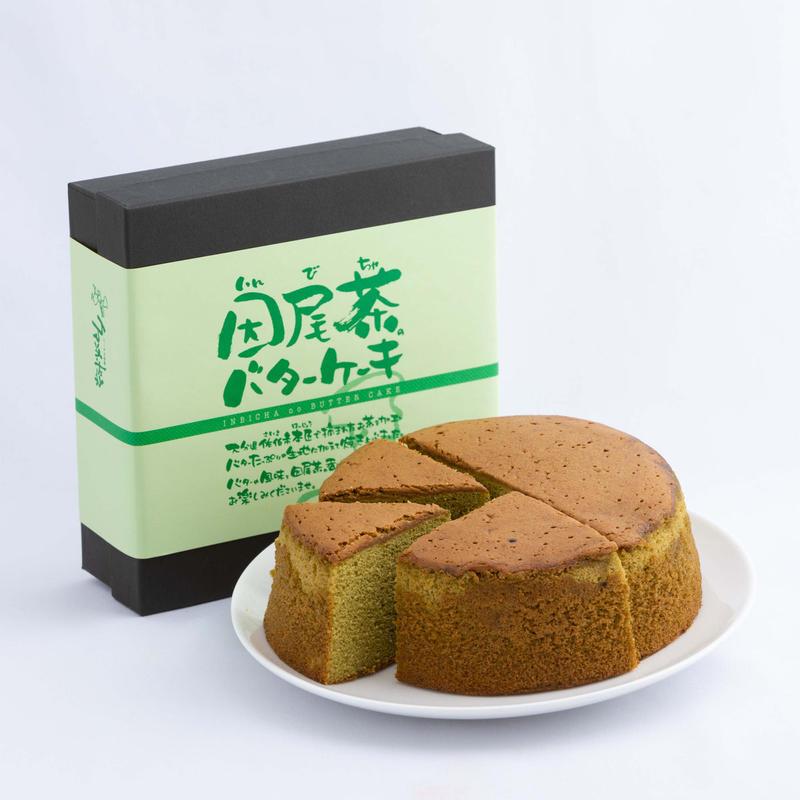 因尾茶のバターケーキ (φ15㎝)