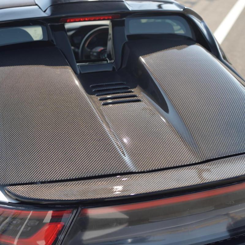 S660 カーボンエンジンフード【ウレタンクリア済】