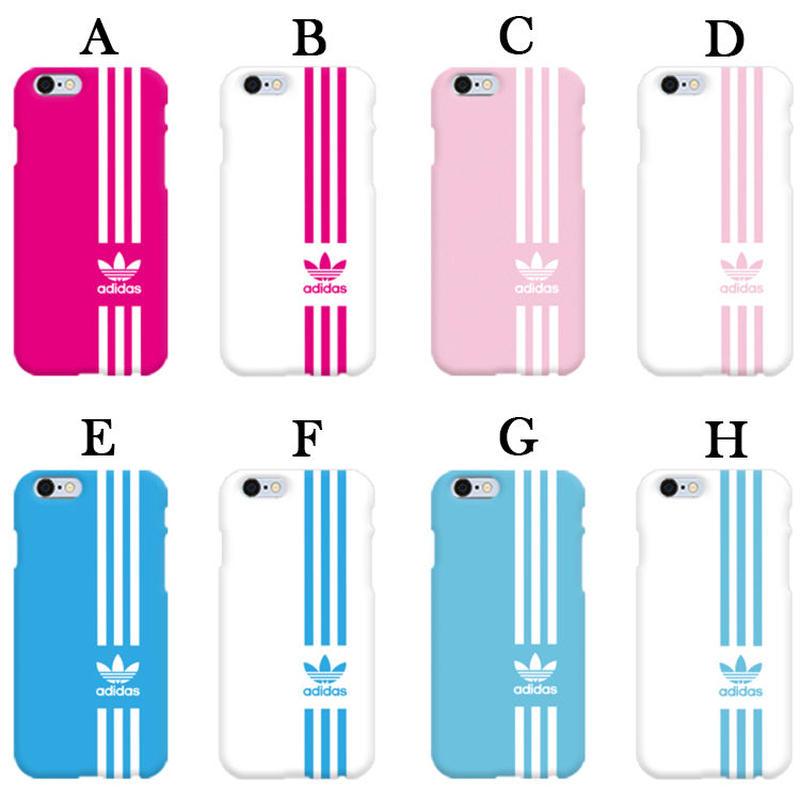 【超大人気!!】アディダス縦ラインハードケータイケース  Galaxy S10+  Galaxy S9+  iPhone X/iPhone XS   iPhone7+/iPhone8+