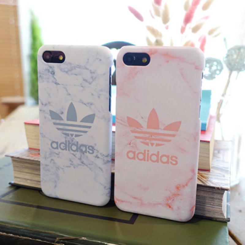 【大人気!!】アディダス大理石ペアケータイケース Galaxy S10  iPhone7+/iPhone8+  iPhone XR  Galaxy note9