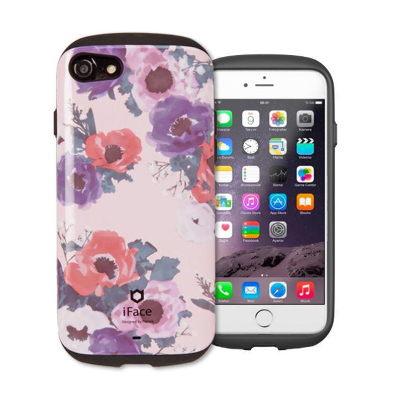 【iface】ifaceセンセーションフローラル  iPhone7/iPhone8 正規品 アイフェイス  人気 可愛い アイフォン
