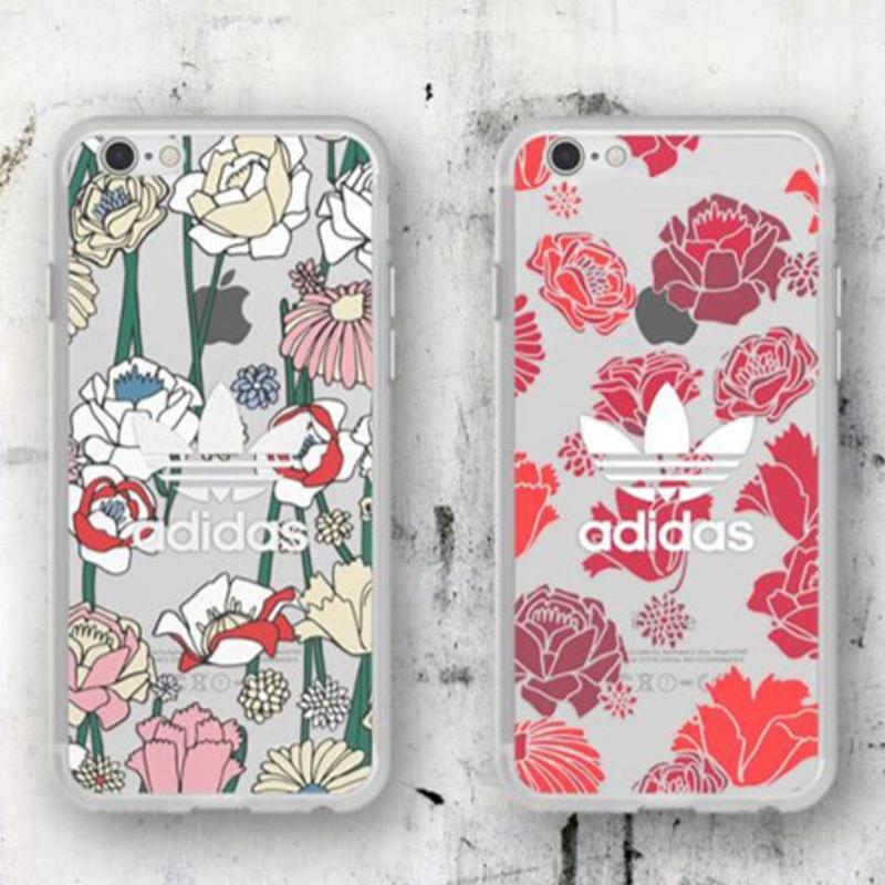 【正規品!!】アディダスボヘミアンクリアケータイケース iPhone7+/iPhone8+ アイフォン スマホケース