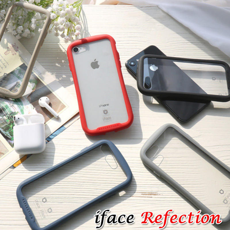 【iface】face reflection 5色クリアケース iPhone7/iPhone8 アイフォン  大人気 シンプル