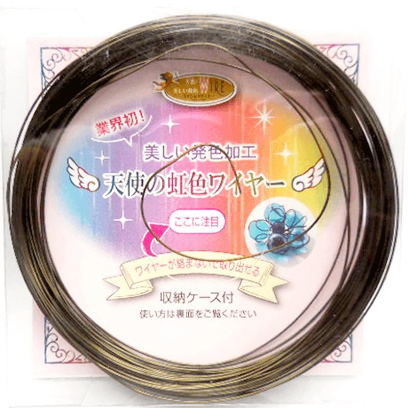 天使の虹色ワイヤー(0.6mm×8m)《オリーブ/全6色》