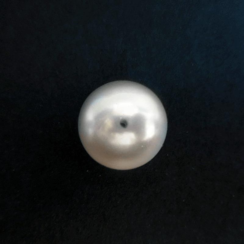 パールビーズ20mm《ホワイト》