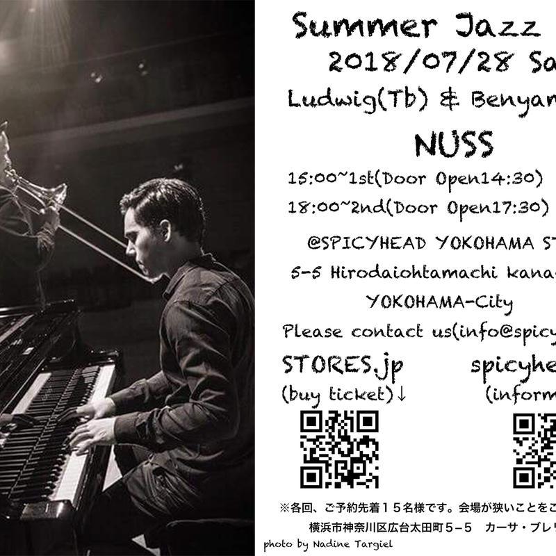2018/07/28 Summer Jazz Fes at SPICYHEAD YOKOHAMA  STUDIO