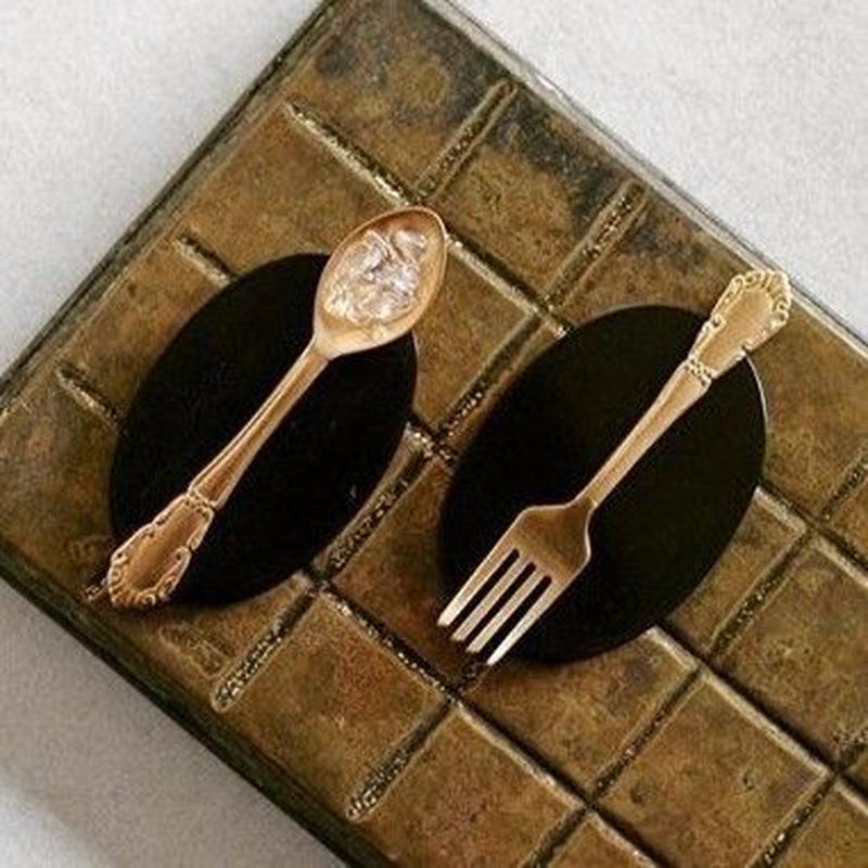 Cutlery Brooch