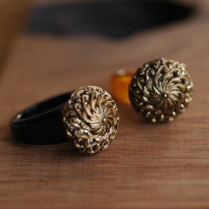 Flower ring 【size:13】