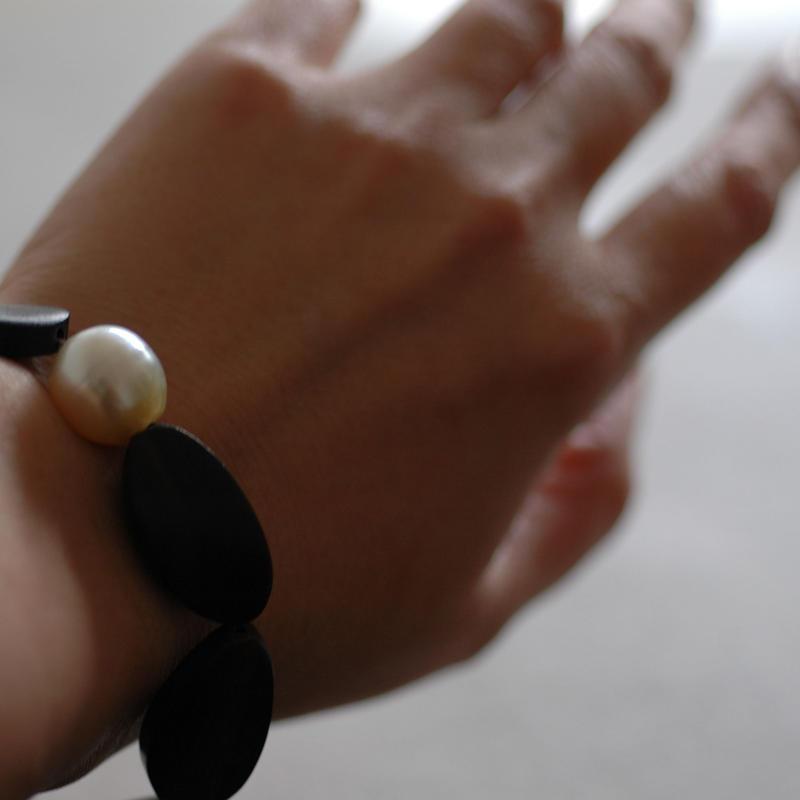 Ebony braceletⅡ【14.5~15㎝】      ※おサイズ直し不可です。