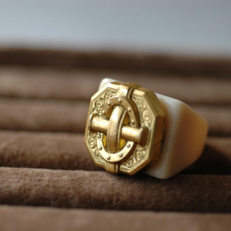 French cross ring 【size:16】