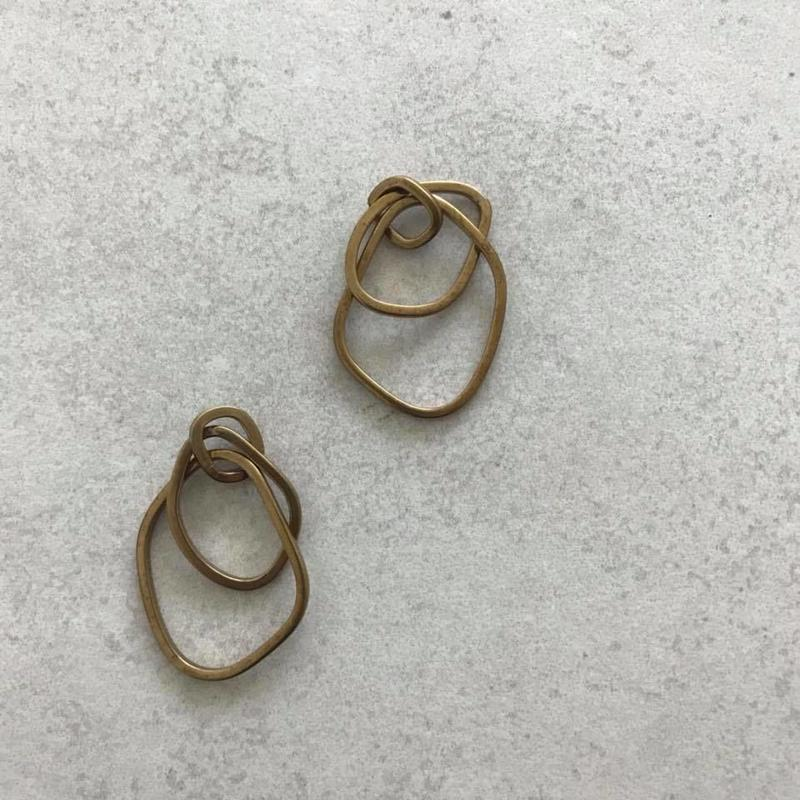 Brass charm 【option style】