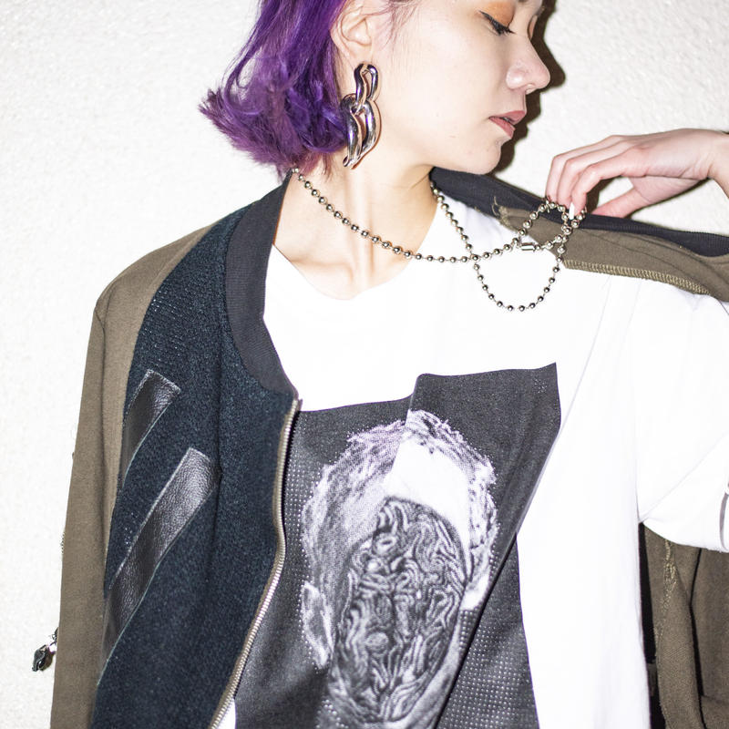 "【T-shirt】""Ill take U (roots) Jacket"" T-shirt / No Gimmick Classics × SUCKMAN"