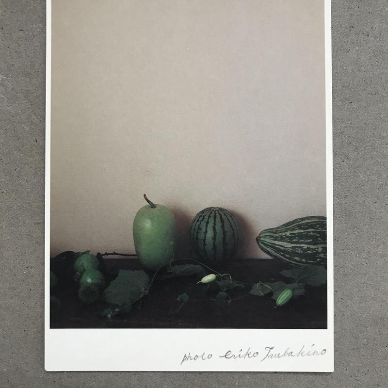 季節の葉書 青い果実