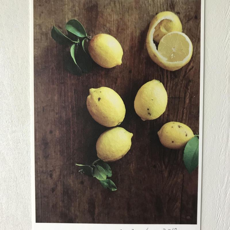 季節の葉書   檸檬