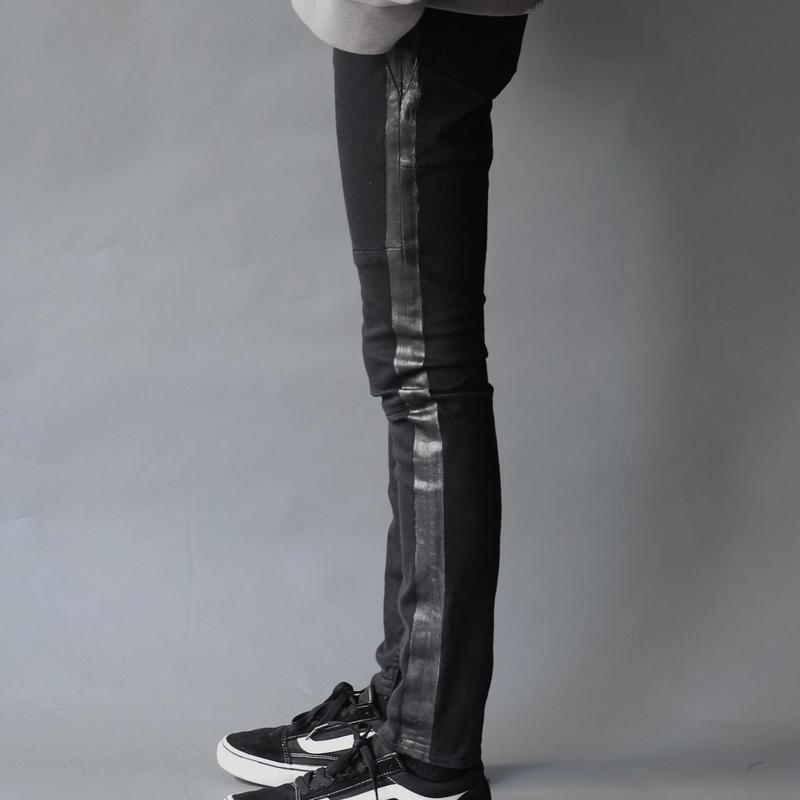 SIDE LINE SKINNY PANTS