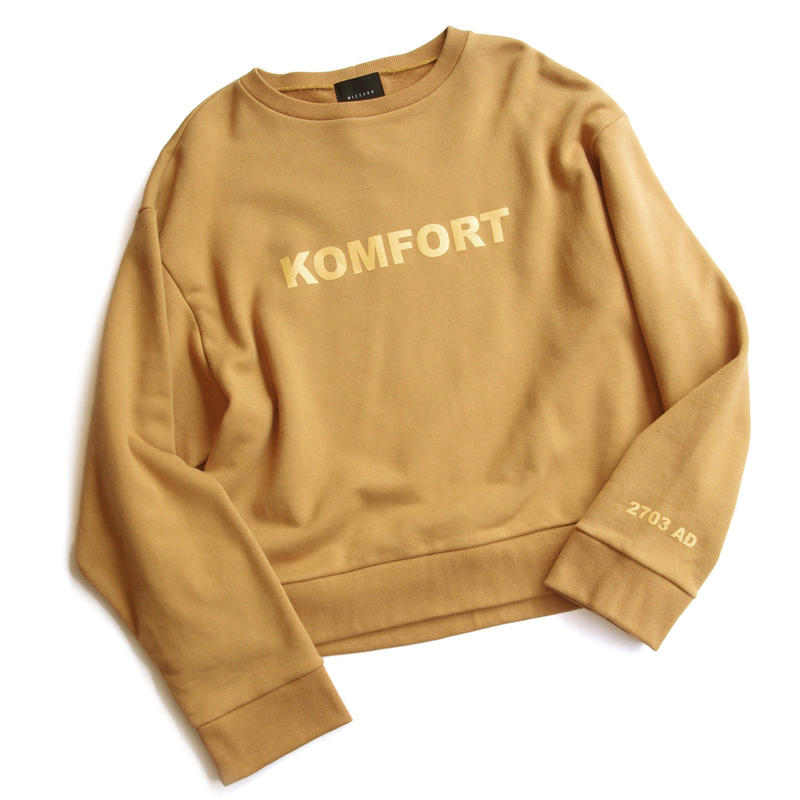 "SHORT CREW NECK SWEAT ""KOMFORT"""