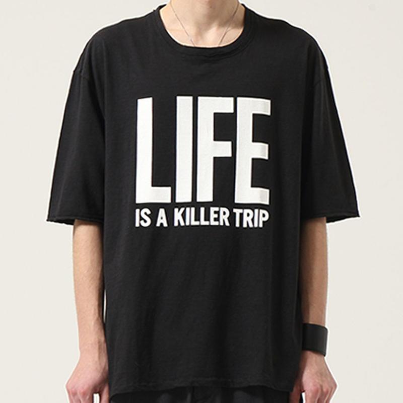 "ARCHIVE PRINT CUTSEW ""LIFE"""