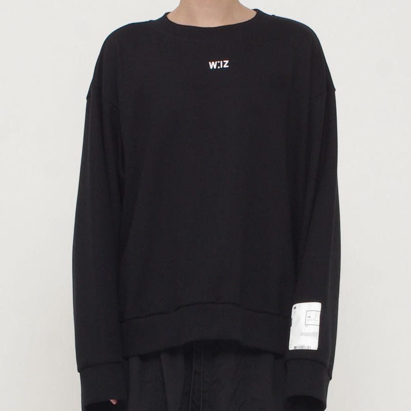 SHORT CREW NECK SWEAT