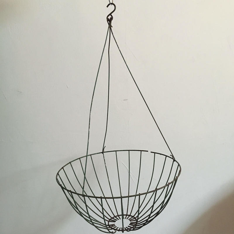 OLD WIRE BASKET