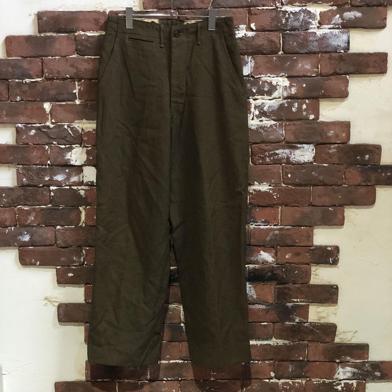 50S US ARMY WOOL TROUSERS