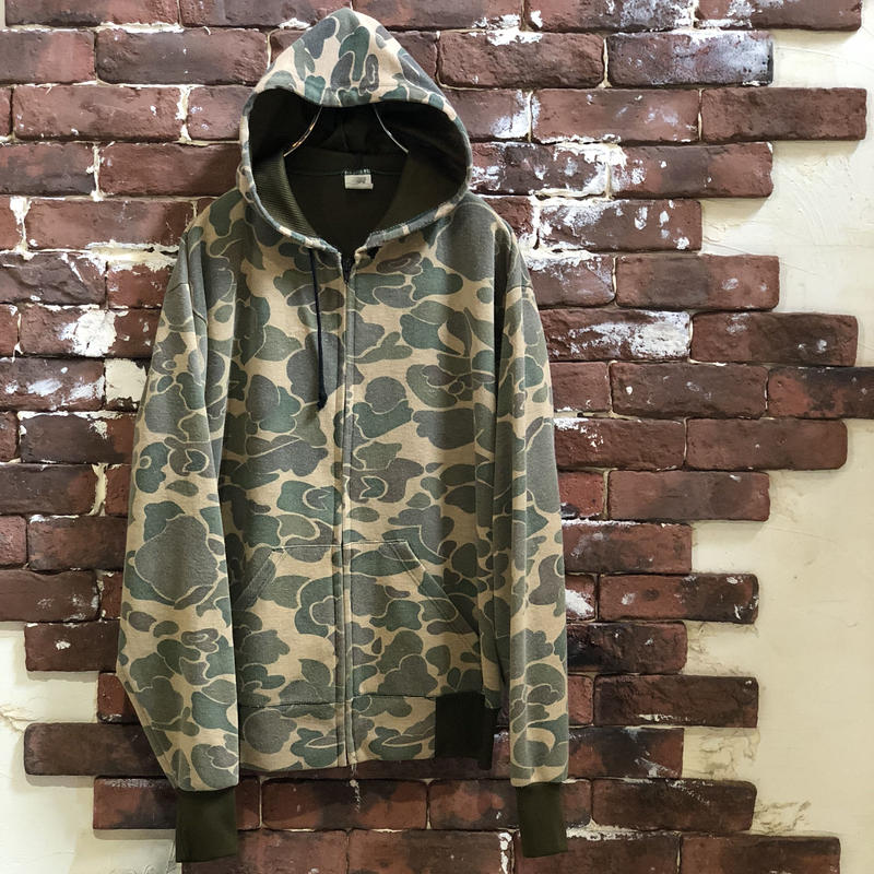 OLD CAMO ZIP PARKA